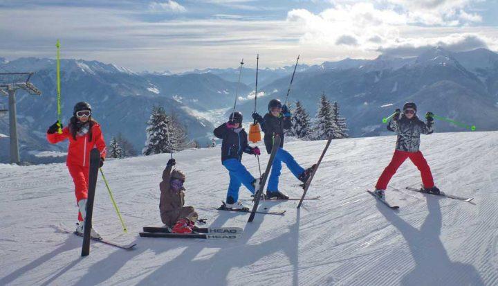 Freizeitaktivitäten Skifahren