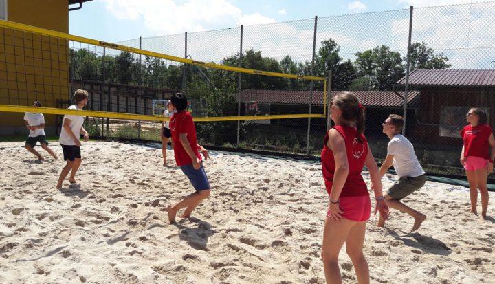 Freizeitaktivitäten Beachvolleyball