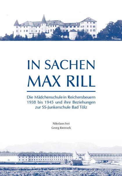 Schulchronik In Sachen Max Rill